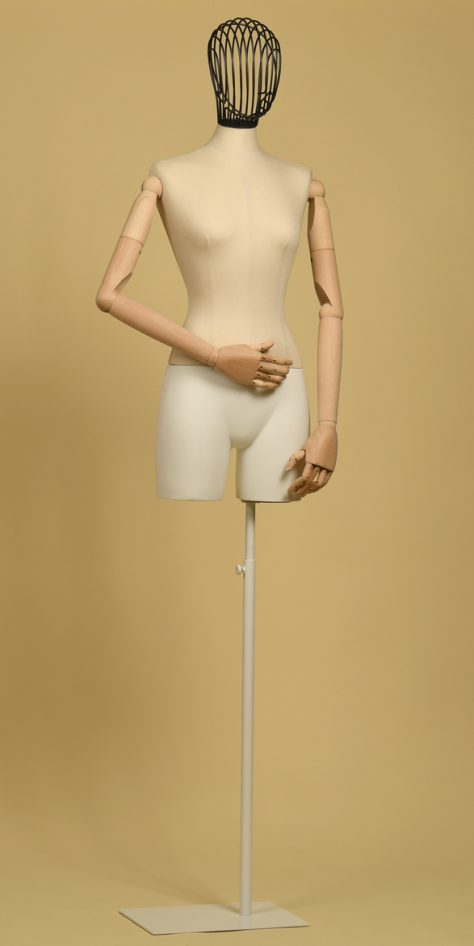 bust-tailor-woman-thigh-head-wire-iron-arms