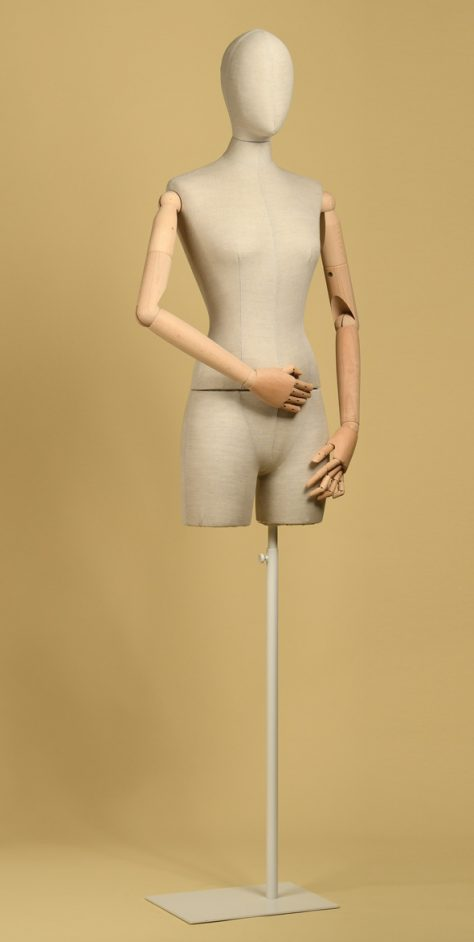bust-tailoring-woman-half-thigh-mix-linen
