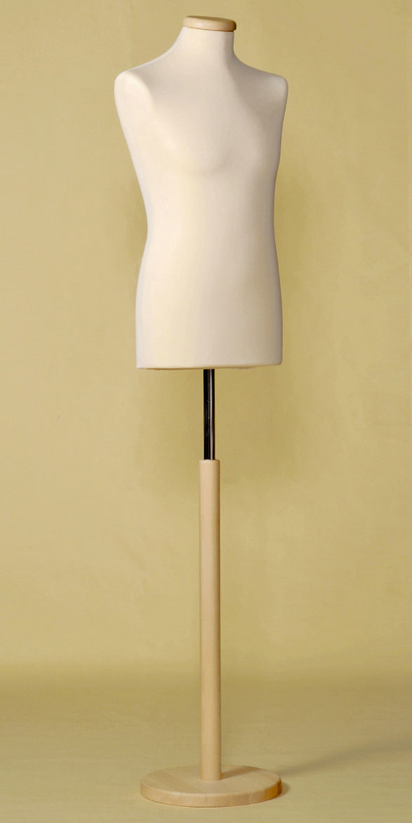 sartorial-bust-man-stopper-neck-stretch-fabric-ecru-round-wood-base