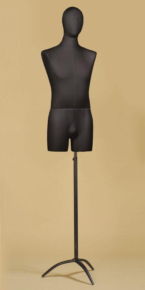 sartorial-bust-man-thigh-cotton-black tripod