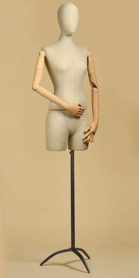 sartorial-bust-woman-mix-linen-half-thigh-tripod