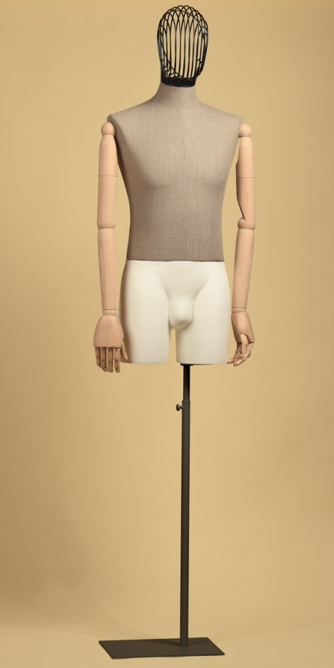 sartorial-man-arms-head-iron-bust-linen-raw-thigh