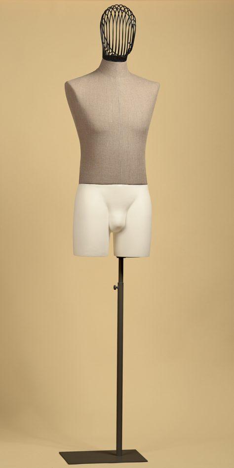 sartorial-man-head-iron-bust-linen-raw-thigh